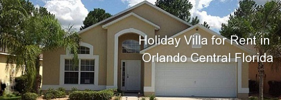 Holiday Villa for Rent in Orlando Central Florida